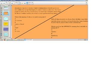 Reading Smartboard Lesson, Context Clues, Vocab, prefix,suffix,TEI SOL Practice