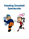 Winter: Reading Snowball Spectacular Bulletin Board for Ja