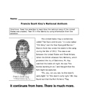 History Reading Social Studies FRANCIS SCOTT KEY and STAR-