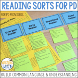 Reading Sorts for Balanced Literacy Professional Development