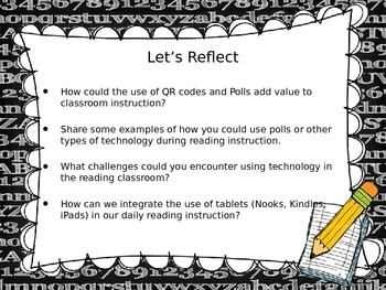 Reading Specialist Technology Presentation