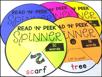Reading Spinners - Blends