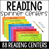 Reading Spinners Centers Bundle | 4th and 5th Grade Readin