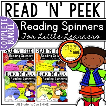 Reading Spinners {Complete Bundle}