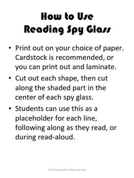 Reading Spy Glass