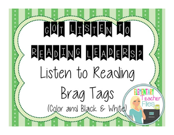 Listen to Reading Brag Tags