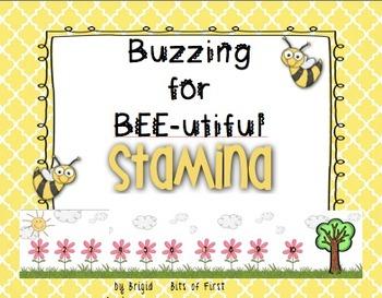 Reading Stamina Bulletin Board Set