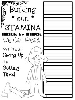 Reading Stamina Posters - IRLA/ Daily Five/ Daily Cafe