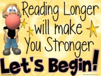 Reading Stamina Timer: Grades 3-6