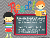 Reading Stamina Timers and Tools