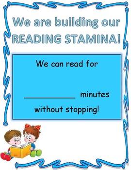 Reading Stamina Tracker