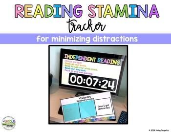 Reading Stamina Tracking Bundle