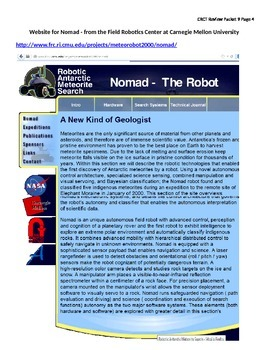 Reading Standardized Test Review - Robot on the Ice (Dual Passage)