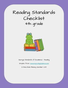 Reading Standards Checklist