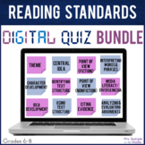 Reading Standards DIGITAL Quizzes - Distance Learning