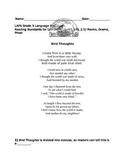 Reading Standards for Literature - (LAFS.5.RL.2.5) Poem