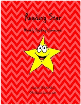 Reading Analysis:  Weekly Reading Star