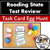 Reading State Test Review Task Card Egg Hunt