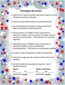 Reading Stategies in Spanish