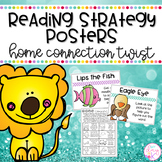 Reading Strategy Posters with a Home Connection Twist