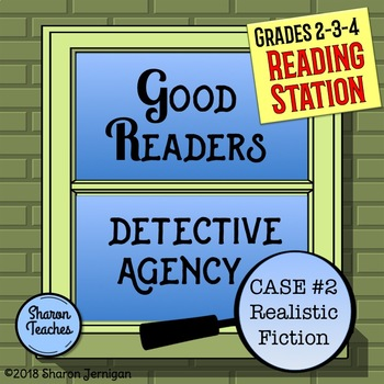 Reading Station - Good Readers Detective Agency Case #2 Realistic Fiction