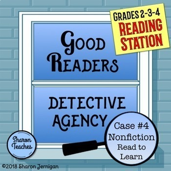 Reading Station - Good Readers Detective Agency Case #4 Nonfiction