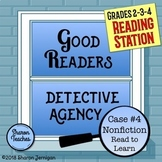 Reading Station - Good Readers Detective Agency Case #4 No