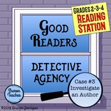 Reading Station - Good Readers Detective Agency Case #3 In