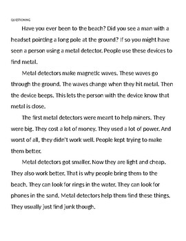 Reading Station Lesson