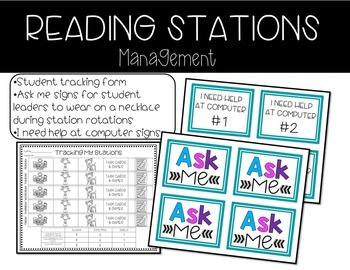 Reading Station Management (FREEBIE)