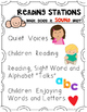 Reading Stations {Expectations Poster Set} for Kindergarte