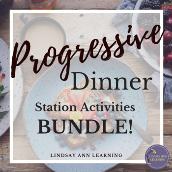 Reading Stations & Writing Stations Activities BUNDLE