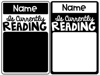 Reading Status of the Class - Editable Bulletin Board Set - Freebie