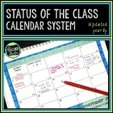 Reading Status and Anecdotal Records Calendars 2017 - 2018 for Reader's Workshop