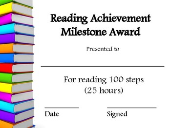 Reading Step Awards - American Reading Company