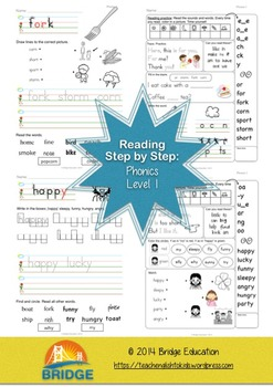 Reading Step By Step: Phonics Level 1