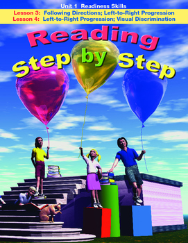 Reading Step by Step Readiness Skills Lessons 3 and 4