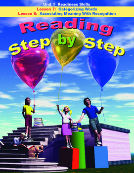 Reading Step by Step Readiness Skills Lessons 7 and 8
