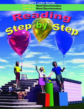 Reading Step by Step Unit 2 Letter Sounds Lessons 5 and 6