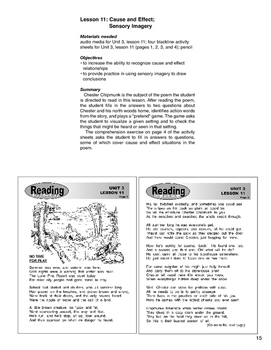 Reading Step by Step Unit 3 Reading Comprehension Lessons 11 and 12