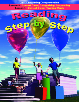 Reading Step by Step Unit 3 Reading Comprehension Lessons 3 and 4