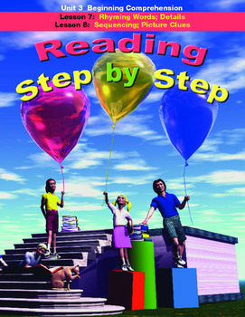 Reading Step by Step Unit 3 Reading Comprehension Lessons 7 and 8