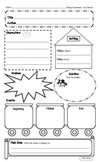 Reading Story Elements Graphic Organizer