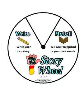 Reading Story Wheel