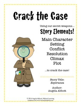 """Reading Story with Story Elements and Writing Prompt ELA """"Esperanza"""""""