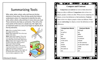Reading Strategies: Author's Purpose Point of View Inference BUNDLE