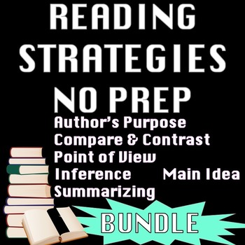 Reading Strategies: Author's Purpose Point of View Inferen