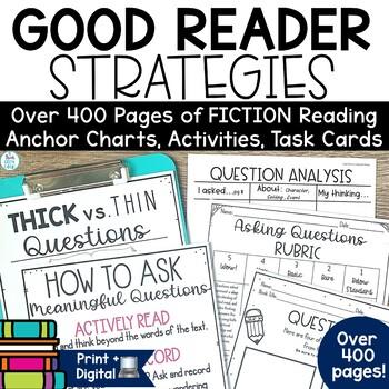 Reading Strategies Fiction Bundle