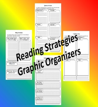 Reading Strategies: Activities & Organizers