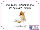 Reading Strategies Activity Cards